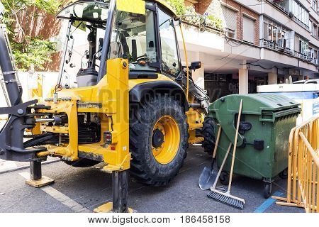 Images Of Works With Backhoe