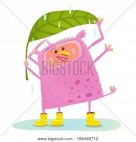 KIds character cartoon illustration for children. Vector cartoon.