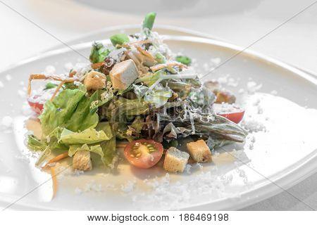 Italian ceasae salad groumet appetizer