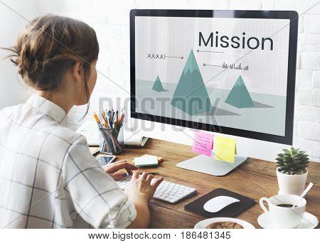 Mission aim aspiration goals ideas