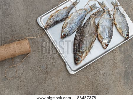 Taranka, Sun Dried Salty River Fish, Classic Beer Snack