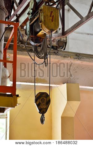 Industrial Crane Hook