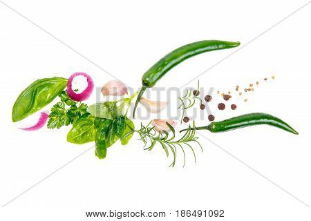 Vegetables In The Shape Of A Bird