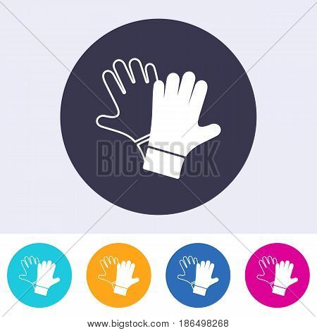 Single vector protective gloves must be worn icon