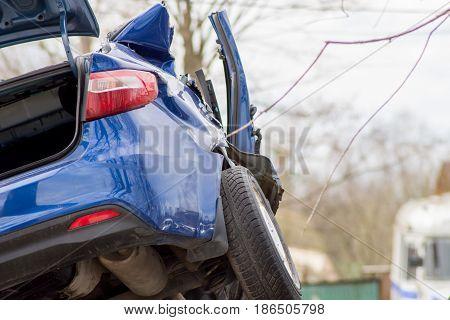 Broken Car Without Restoring