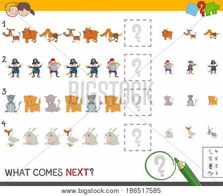 Complete The Pattern Activity