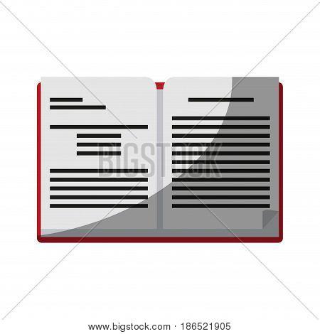 open book icon image vector illustration design