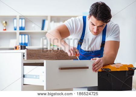 Furniture repair and assembly concept