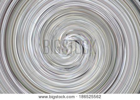 Grey abstract horizontal swirl twirl spiral vortex image