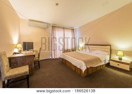 Double room in the hotel