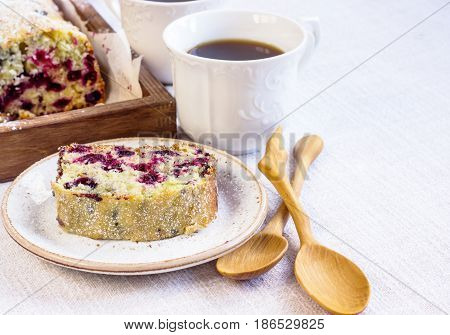 Fruitcake With Black Currant