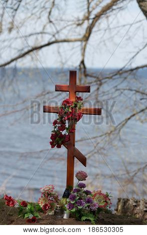 Final resting place with a beautiful view