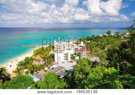 Jamaica - Tropical Caribbean island of Montego Bay.