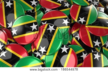 Saint Kitts And Nevis Badges Background