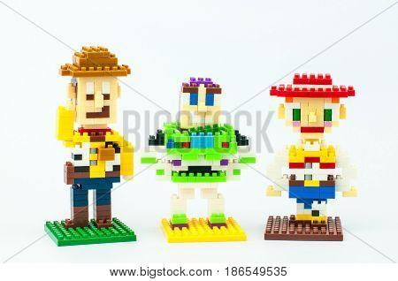 Toy Story Micro Blocks