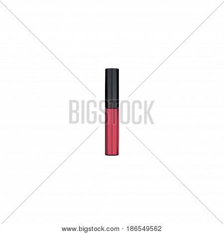 Realistic Pomade Element. Vector Illustration Of Realistic Liquid Lipstick Isolated On Clean Background. Can Be Used As Liquid, Lipstick And Pomade Symbols.