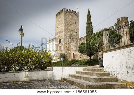 the Castle of Alter do Chao town, District of Portalegre, Portugal