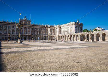 Palacio Real - Spanish Royal palace in Madrid
