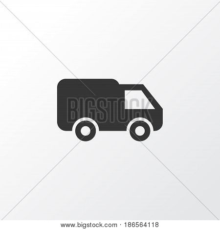 Van Icon Symbol. Premium Quality Isolated Truck Element In Trendy Style.
