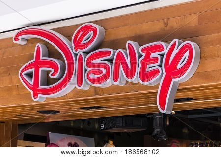 Cincinnati - Circa May 2017: Disney Store Retail Mall Location. Disney Store is the Official Site for Disney Shopping VI