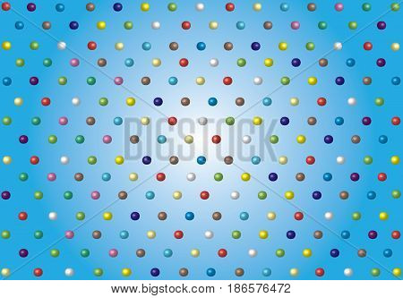 Spotted background. Multicolored background with colorful bubbles.