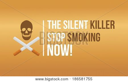 Vector flat banner no tobacco day collection stock