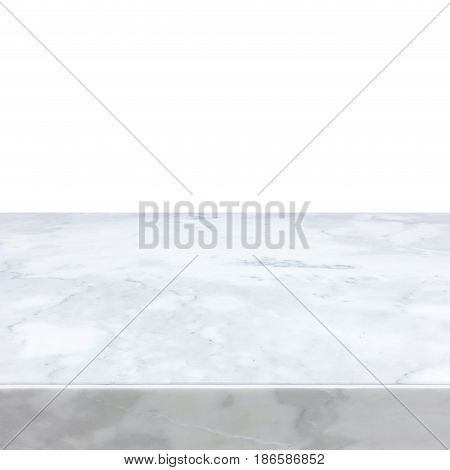 White marble stone countertop - can be used as background for display or montage your products