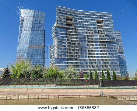 Almaty - Business Centre Of Esentai Tower