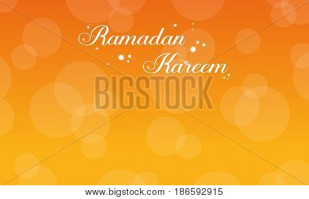 Collection stock of Ramadan Kareem card vector art