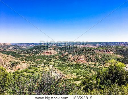 American Southwest Landscape And Canyons