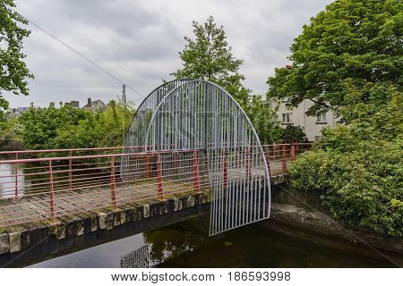 Wooden Bridge Of Galway