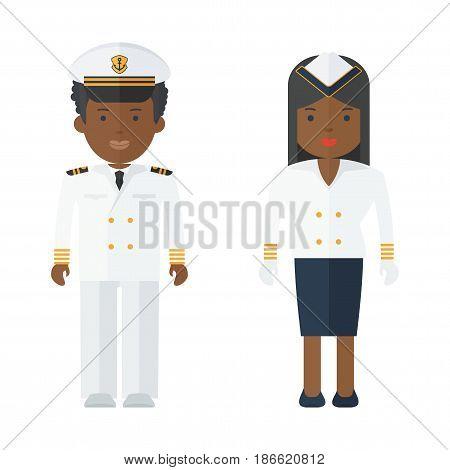 Black People Ship Staff
