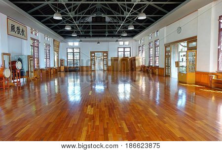 Inside The Wu De Martial Arts Hall