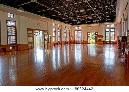 Main Room Of The Wu De Martial Arts Hall