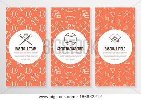 Softball images illustrations vectors softball stock for Softball brochure templates