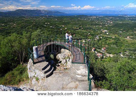 Corfu Island Viewpoint