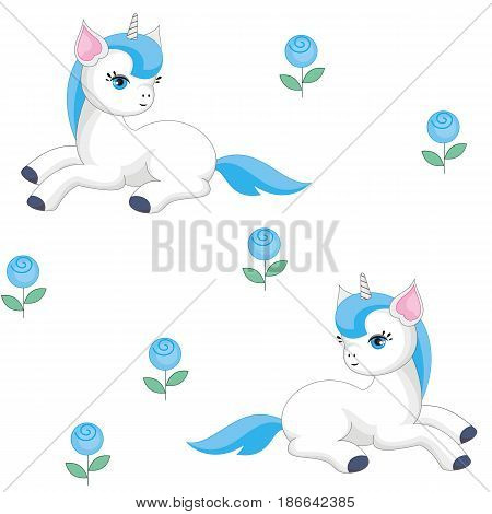 Roses And Unicorns.eps