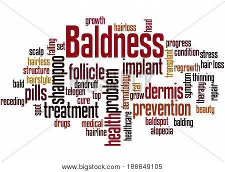 Baldness, Word Cloud Concept 2