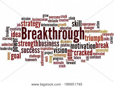 Breakthrough, Word Cloud Concept 5