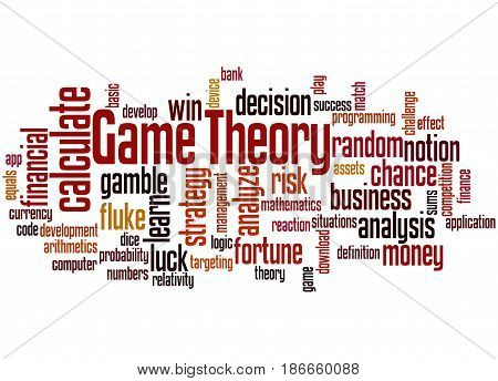 Game Theory, Word Cloud Concept