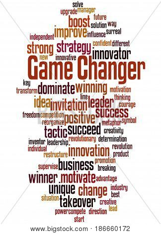 Game Changer, Word Cloud Concept 5