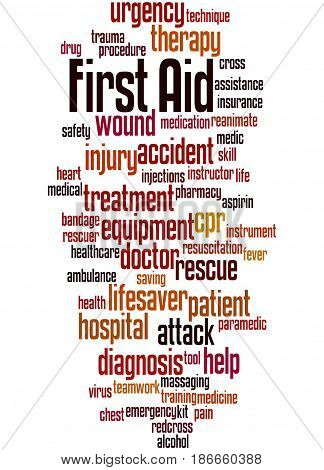 First Aid, Word Cloud Concept 5