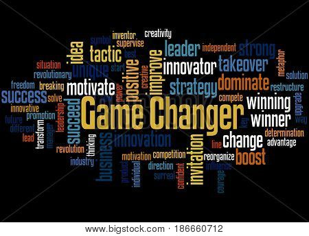 Game Changer, Word Cloud Concept 3