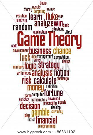 Game Theory, Word Cloud Concept 5