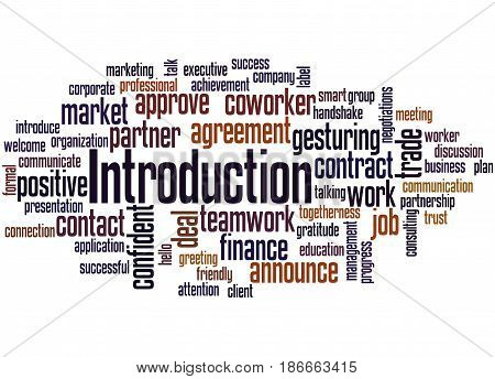 Introduction, Word Cloud Concept 2