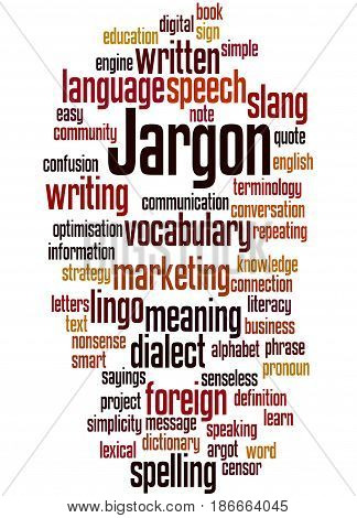 Jargon, Word Cloud Concept 5