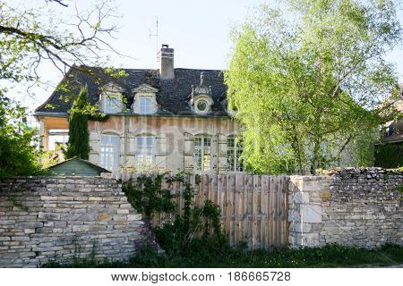 Classic And Traditional House Of The French Bourgeois Countryside