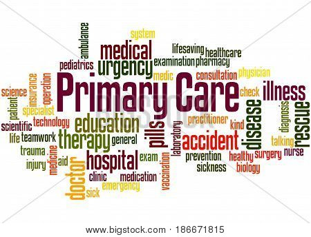 Primary Care, Word Cloud Concept 3