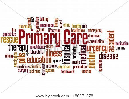 Primary Care, Word Cloud Concept 4