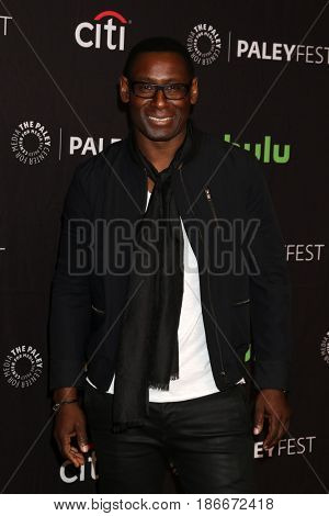 LOS ANGELES - MAR 18:  David Harewood at the 34th Annual PaleyFest Los Angeles - The CW at Dolby Theater on March 18, 2017 in Los Angeles, CA